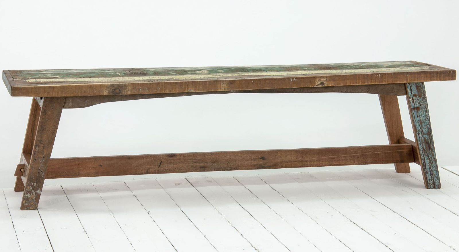 Admiral Reclaimed Wood Dining Room Furniture Dining Bench