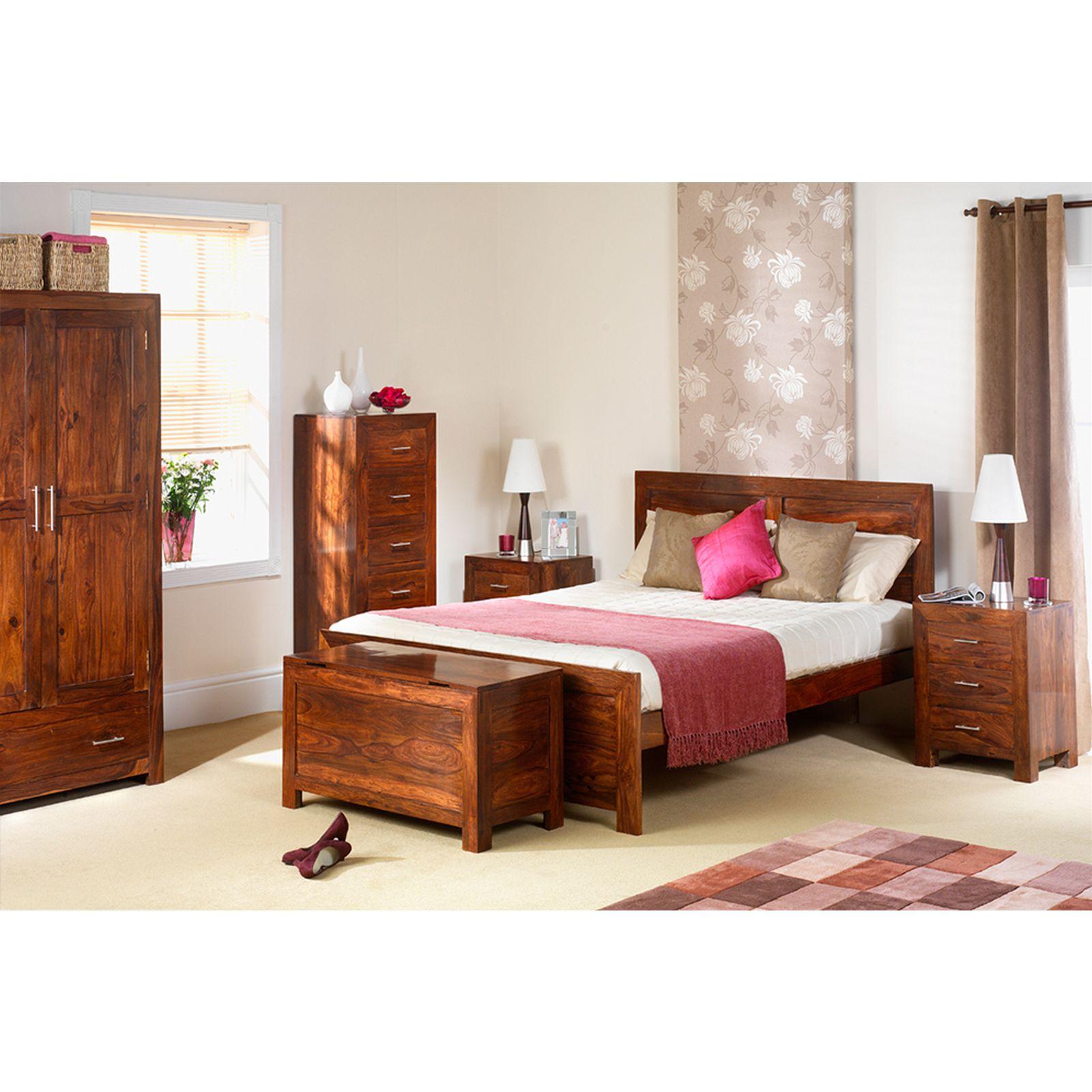 Sheesham Bedroom Furniture Mysore Solid Sheesham Furniture Gents Double Wardrobe With Drawer