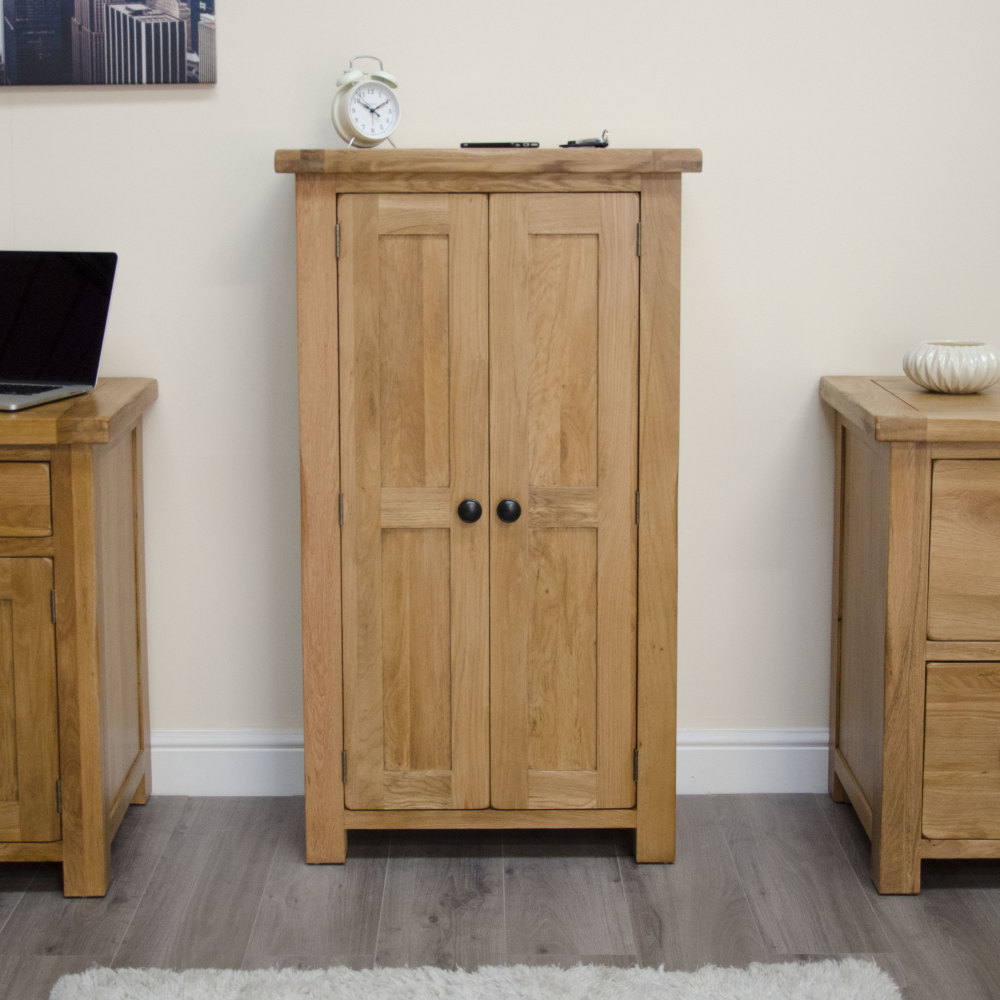 Original rustic shoe storage cabinet cupboard unit solid for Cupboard cabinet