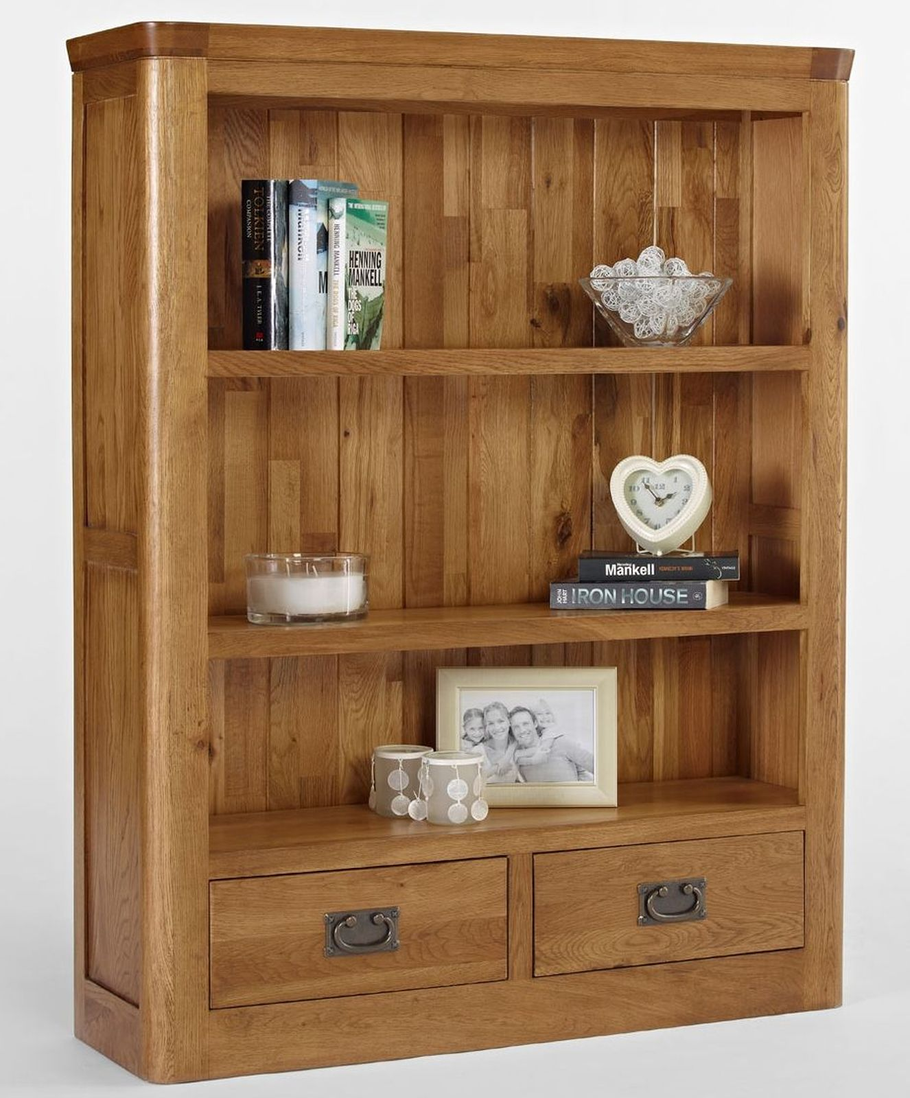 details about dalmore solid oak bedroom furniture small bookcase with