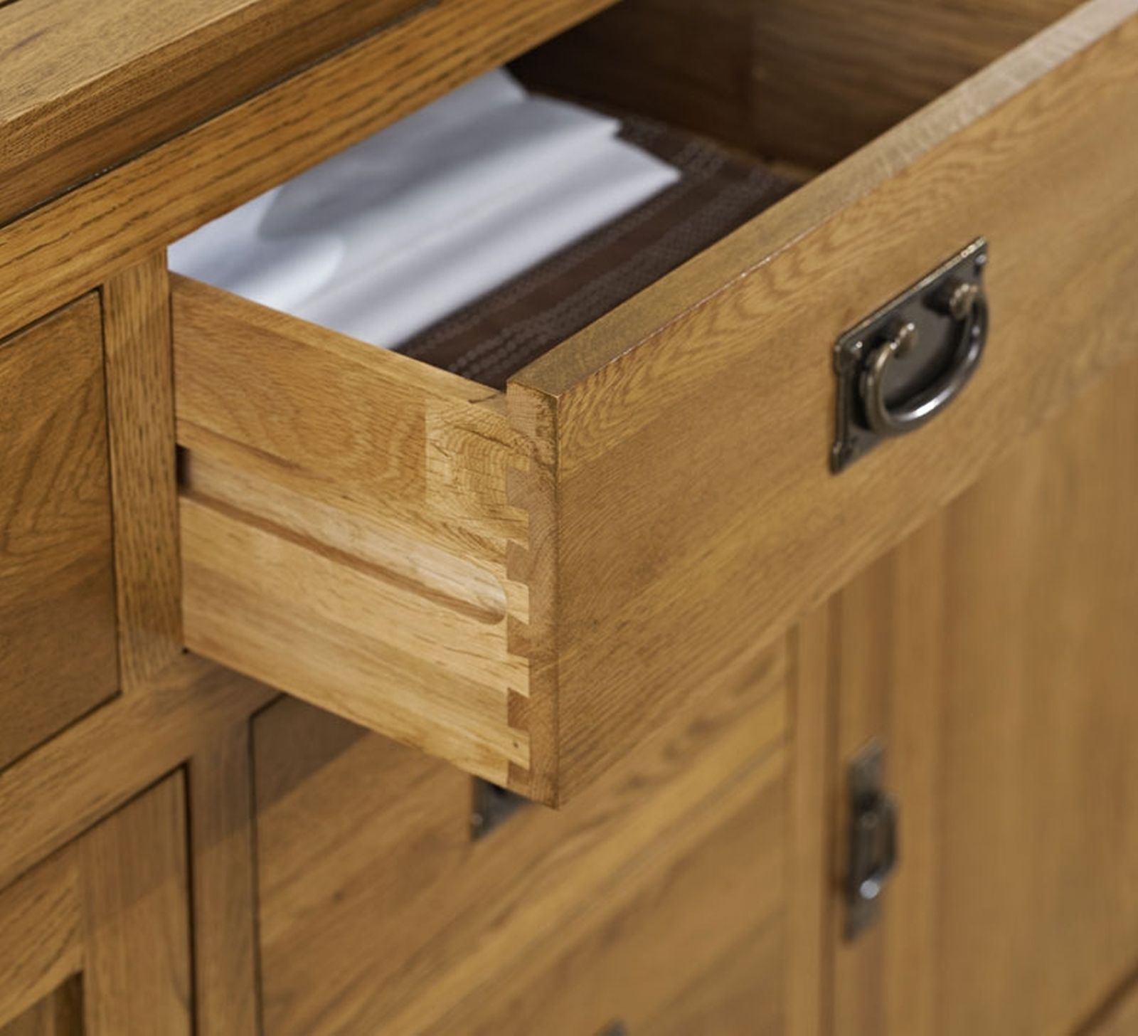 details about artisan solid oak bedroom furniture console hallway hall