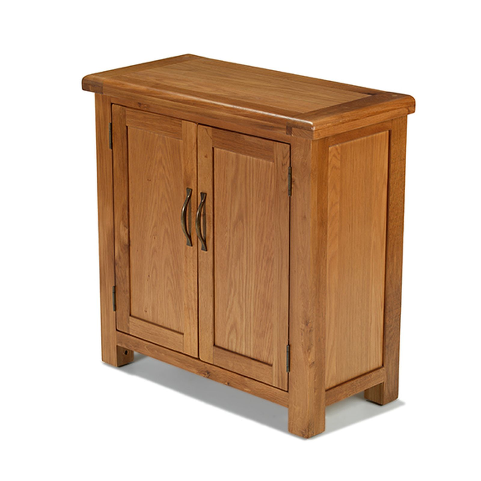Rushden solid oak furniture small petite cabinet storage for Solid oak furniture