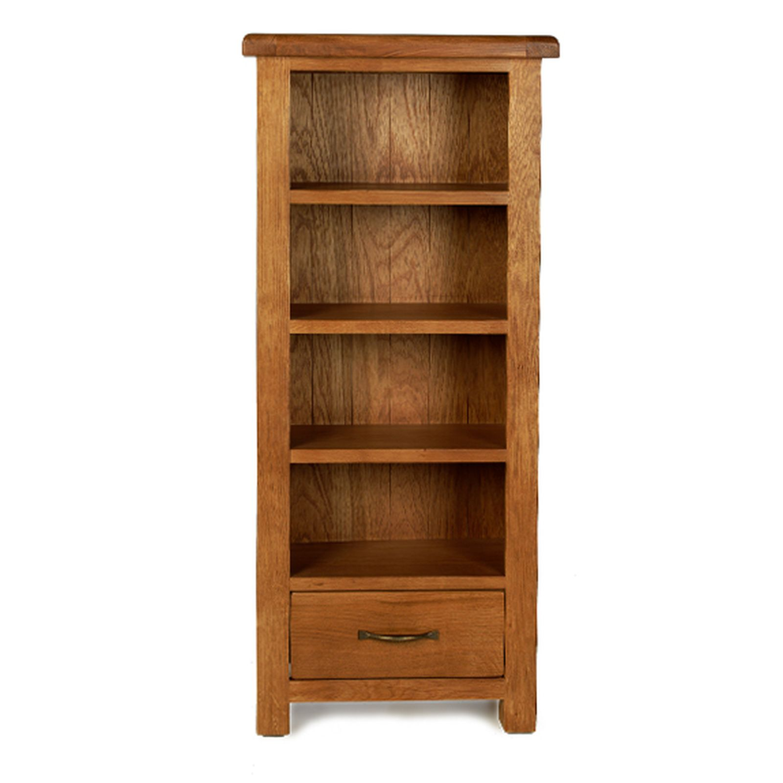 Rushden solid oak furniture cd dvd storage cabinet rack ebay for Solid oak furniture