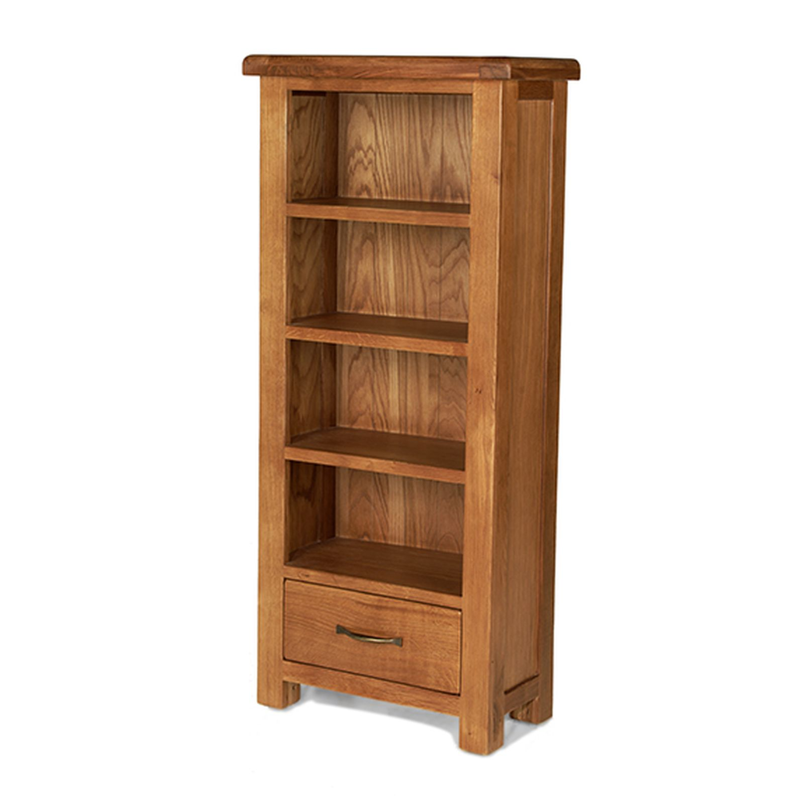 Rushden solid oak furniture cd dvd storage cabinet rack ebay for Cupboard cabinet